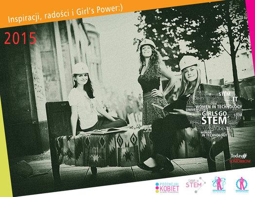 """Christmas Card from """"Girls go STEM!"""""""