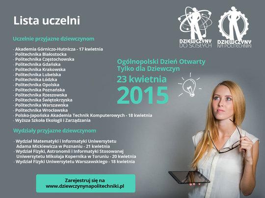 """List of Technical Universities in """"Girsl go STEM!"""""""
