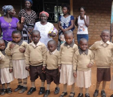 Nyawanga ECD Children with Parents and Guardians