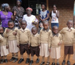 Nyawanga ECD Children with Parents and Guardians