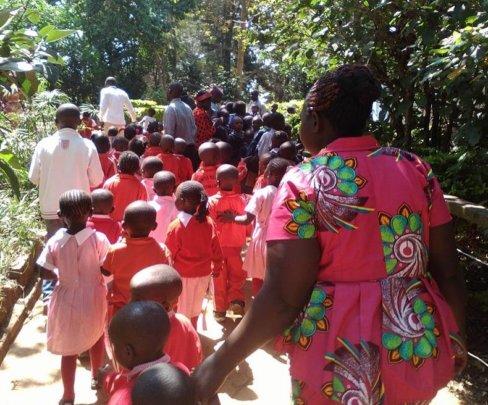 Kibera Mpira Mtaani ECD Kids on Tour