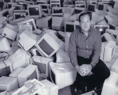 In the beginning of distributing 16,000 computers