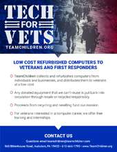 Technology for veterans and First responders (PDF)