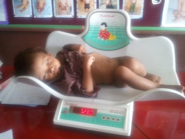 Jal Bahadur at admission to the NRH