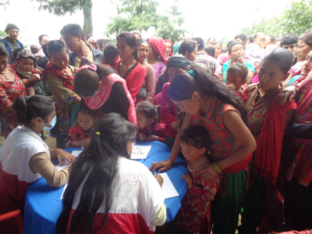 Mothers register for nutrition camp