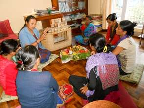 Nutritional and health education for mothers