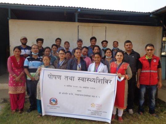 Nutritional Outreach Camp Team