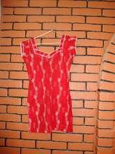 Dress made by girls in seamstress school