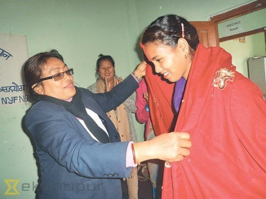 First freed Kamlari to graduate from college