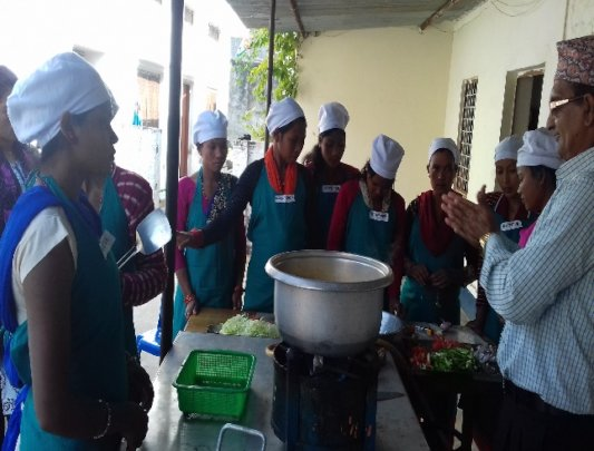 Food Stall Management Training