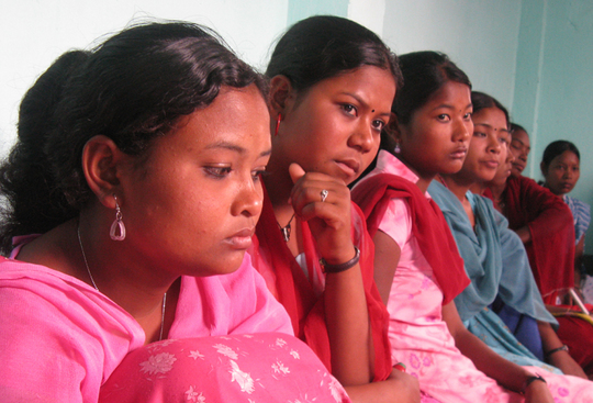 Girls rescued by NYOF reflect on their troubled past