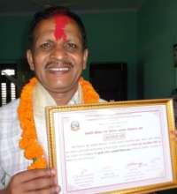 NYF program manager Man Bahadur Chhetri