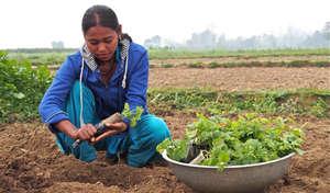 A former child slave now tills a successful farm