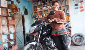 One of Nepal's first auto mechanics
