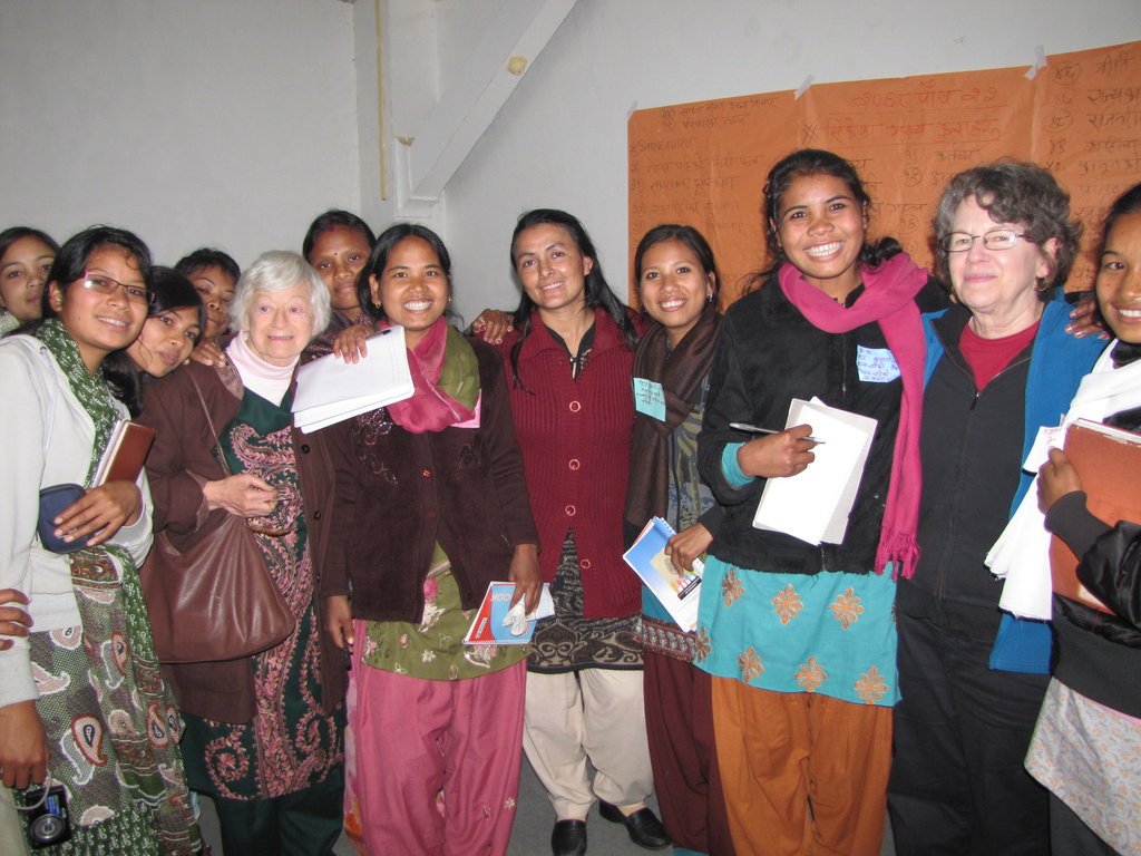 Literacy training for former Kamlari