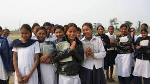 Formerly bonded girls can now go to school