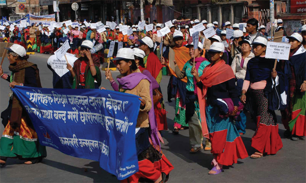 Freedom March — Nepali Style