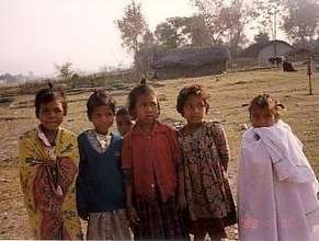 Little girls who have been sold into bonded servit