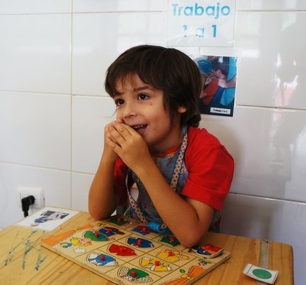 Educate 84 children/teens with autism in Venezuela