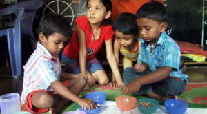 Activities by children in the Centre