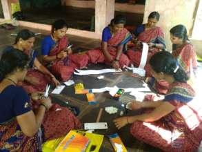 Material creation by asst teachers