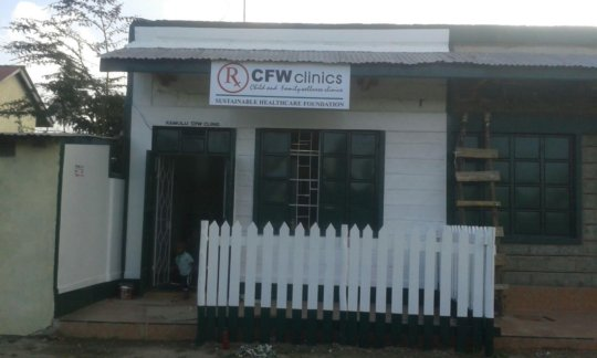 Rita's New CFW Clinic in Kamulu