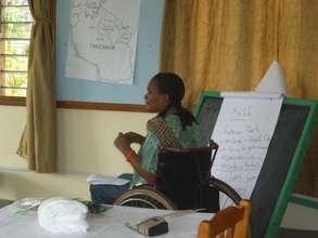 Teaching a Workshop on Health & Wellbeing