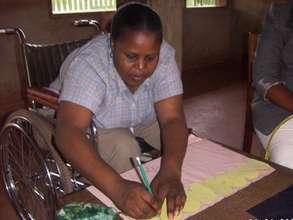 Another Kasi member demonstrating skills
