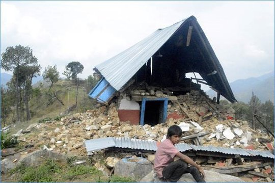 Nepal disaster:relief to remote rural villages