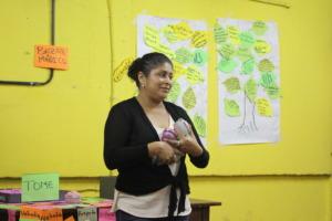 Anielka inspires a conversation around self-esteem