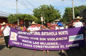 The Cultural Center parades through the streets