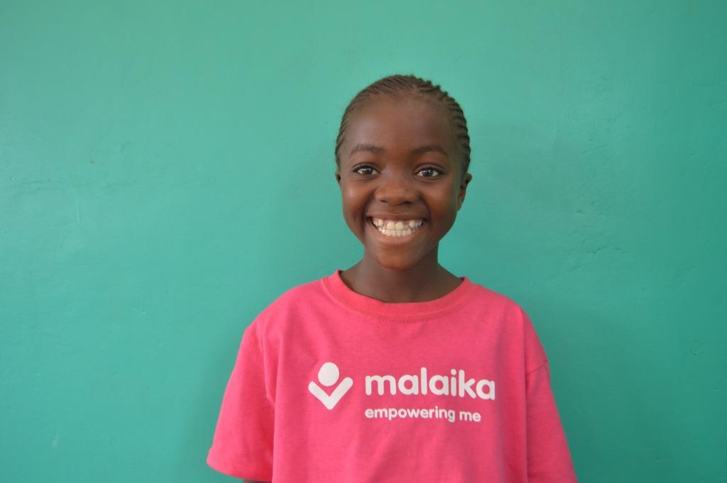 Alphonsine, our flutist in Grade 5B