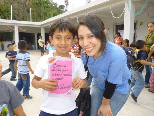 Preventive oral health program for rural children