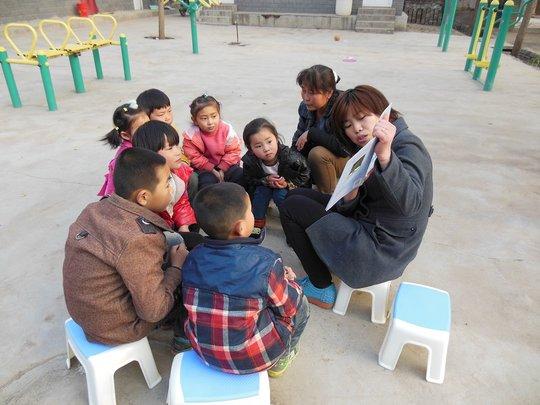 Free weekend reading activity for village children