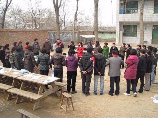 Teachers share on the last day.