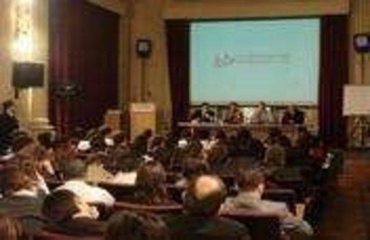 International student forum in Argentina.