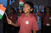 Support a homeless child in India