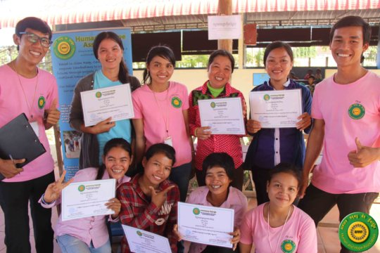 Support a Cambodian community to overcome poverty