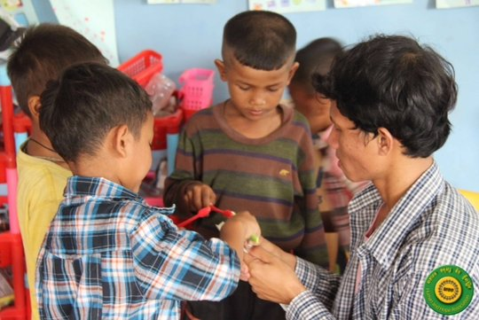 Empower 300+ Cambodians with programs for a year!