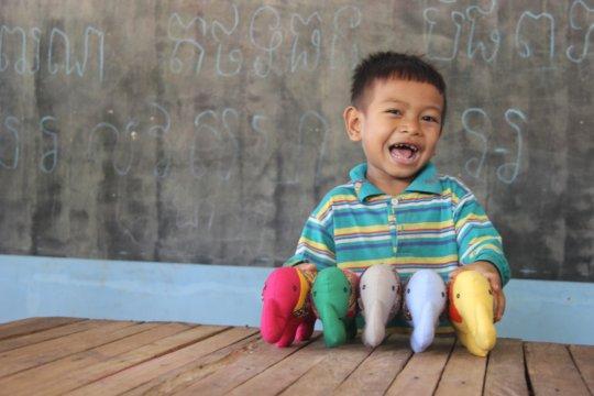 Fun and games in preschool!