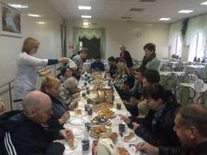 Evening tea (Tver Gerontology center)