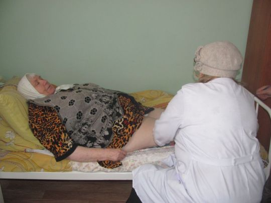 Raisa Ivanovna, massagist in Begichevo