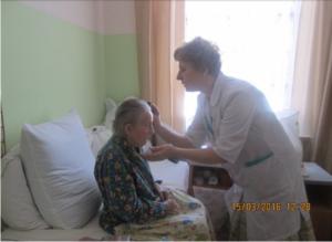 Helping to comb, Vyazma house