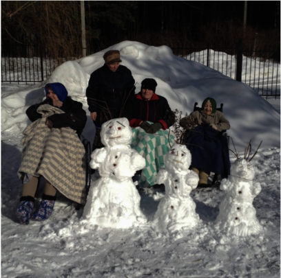 People of all ages can and should enjoy snow
