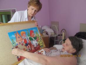 Babushka Galya collects puzzles, Vyazma