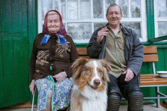 Therapy dog Artu visited elderly residents