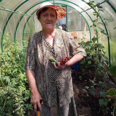 First vegetables grown