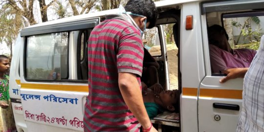 Reach out to Communities with Ambulance Service