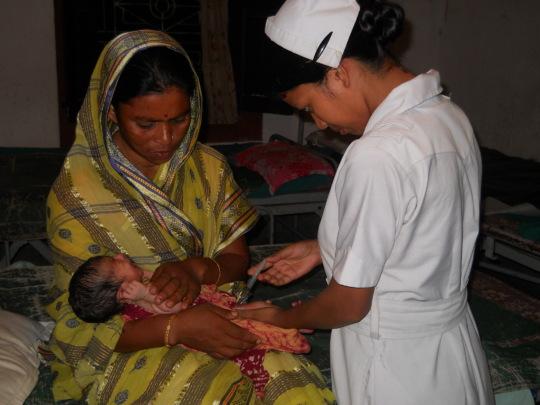Immunisation of newborn