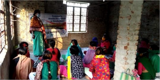 Meeting with Adolescents on Personal Hygiene